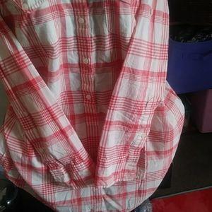 J. Crew Tops - J crew half button shirt